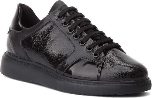 4965beca1a0 Κλειστά παπούτσια GEOX - D Thymar E D844BE 0ZKBC C0062 Dk Grey/Black ...