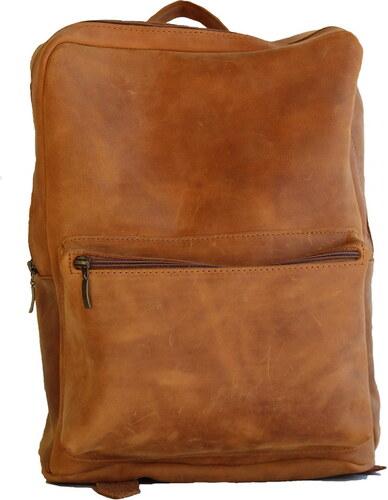 Δερμάτινη τσάντα πλάτης (ΧΡΩΜΑ ΚΙΤΡΙΝΟ ΚΕΡΙΟΥ) - Glami.gr d5c1b41626b