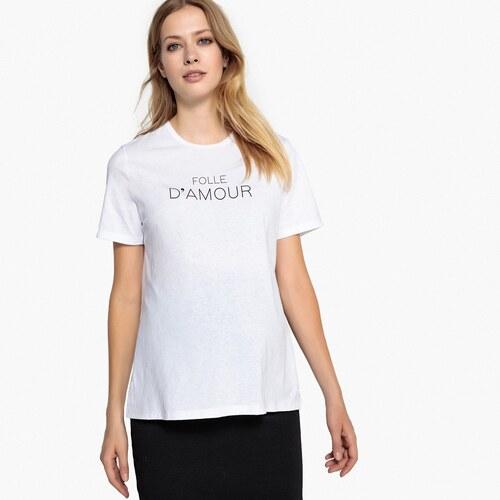 LA REDOUTE COLLECTIONS Κοντομάνικη μπλούζα εγκυμοσύνης με στρογγυλή  λαιμόκοψη 34fd84a43f3