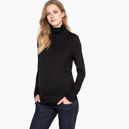 LA REDOUTE COLLECTIONS Μακρυμάνικη μπλούζα εγκυμοσύνης με λαιμό ζιβάγκο 78c4f83d6f3