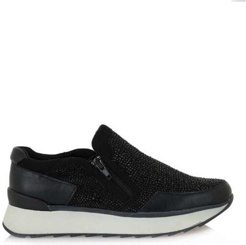 -49% Exe Gloria-125 Μαύρα Γυναικεία Sneakers Exe TB1951-01-CK5301-01 2f002eb6882