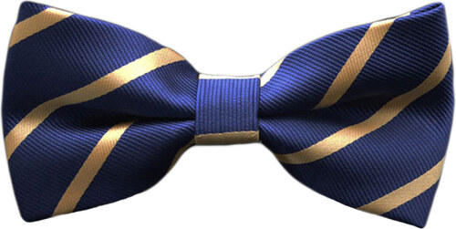 fae5a452dcd Ανδρικό Παπιγιόν - Με Σχέδιο Μπλε Χρυσό - 2244 Ανδρικό Χρυσό - Glami.gr