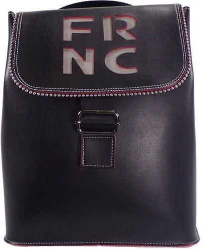 f7b2675270 FRNC FRANCESCO Τσάντα Γυναικεία Πλάτης-Backpack 1260 Μαύρο Δέρμα frnc 1260  mayro