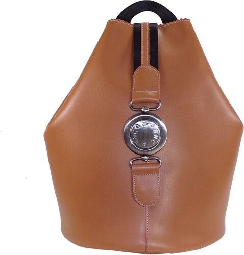 4b4db24740 FRNC FRANCESCO Τσάντα Γυναικεία Πλάτης-Backpack 563 Ταμπά Δέρμα frnc 563  tampa derma