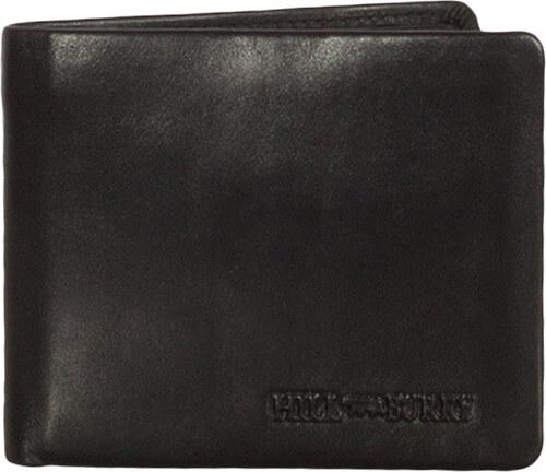 66fda4dabe Hill Burry ανδρικό δερμάτινο πορτοφόλι RFID μαύρο - Glami.gr