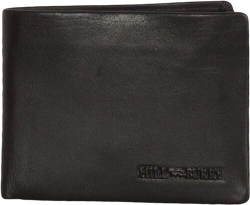 513b2c9d01 Hill Burry ανδρικό δερμάτινο πορτοφόλι RFID μαύρο με θήκη κερμάτων ...