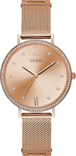 Ρολόι Guess με ροζ χρυσό μπρασελέ και καντράν W1154L2 - Glami.gr 0d912417ed5