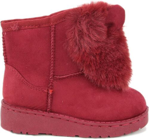 eshoes.gr Παιδικά μποτάκια με γούνα μπορντό - Glami.gr c8048ef5fac