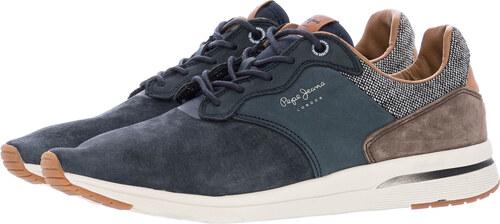 Pepe Jeans Ανδρικά Παπούτσια Casual Jayker.Nubuck Μπλε Δέρμα Καστόρι ... fcd38e7b7ad