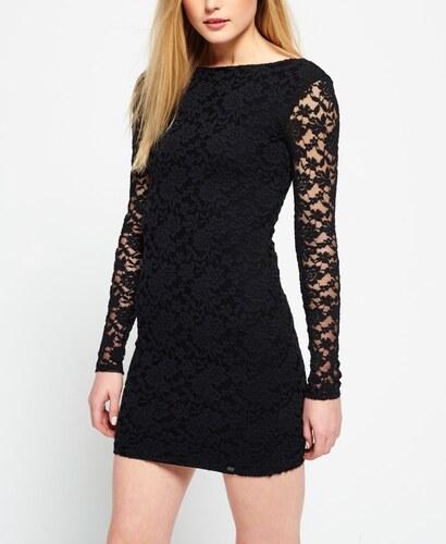 3673856aa55e superdry Wilson Lace γυναικείο φόρεμα από δαντέλα με μακρυά μανίκια ...