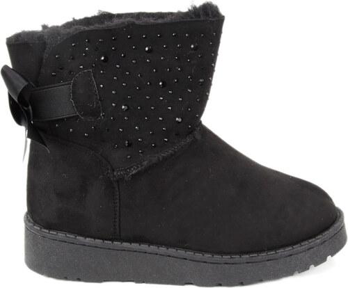 b19e56d758a eshoes.gr Παιδικά μποτάκια μαύρα στρας - Glami.gr