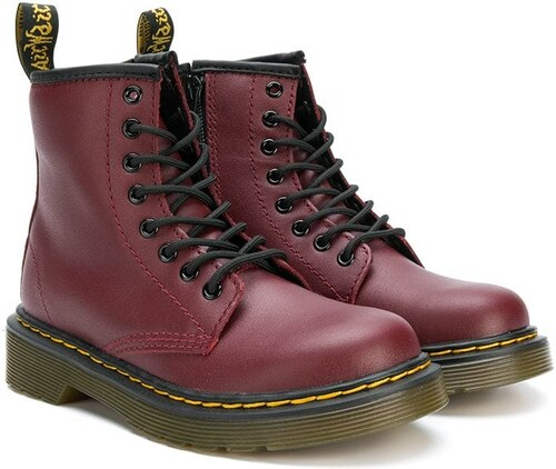 f7e5bb837a6 Dr. Martens Kids lace-up boots - Red - Glami.gr