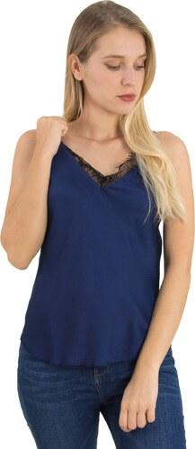 ebe5e23dd5a6 Γυναικείο μπλε ραντάκι σατέν δαντέλα Coocu 36055D - Glami.gr