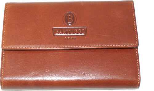4ee1ec3b8c Δερμάτινο πορτοφόλι Bartuggi 171-3871 σε καφέ χρώμα έως 6 άτοκες δόσεις