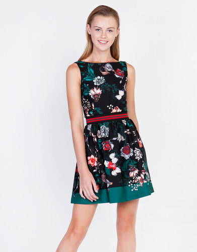 6abca61d6bb2 Lynne Μίνι εμπριμέ κλος φόρεμα - Glami.gr