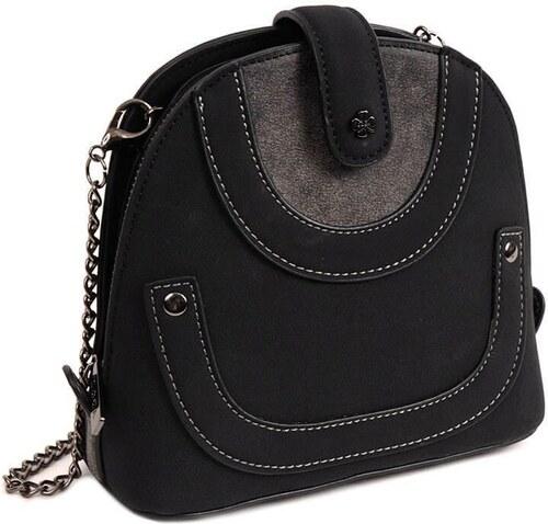 DOCA Τσάντα χιαστί μαύρη (14074) - Glami.gr 45f435cc42c