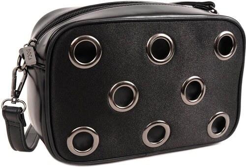 DOCA Τσάντα χιαστί μαύρη (14217) - Glami.gr f8b1986b186