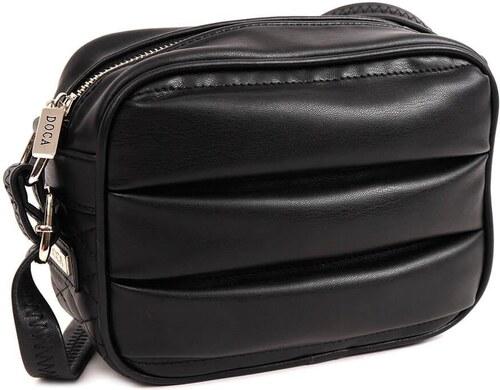 DOCA Τσάντα χιαστί μαύρη (14357) - Glami.gr 87c97ed10e6