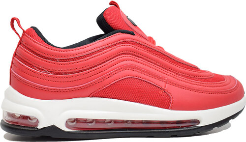 33f91200658 MIMSOGA Εφηβικό Αθλητικό Παπούτσι B 1001-1 Κόκκινο - Glami.gr