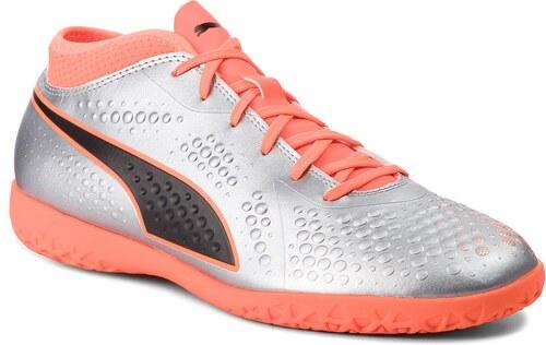 8c733dd3c41 Παπούτσια PUMA - One 4 Syn It 104750 01 Silver/Orange/Black - Glami.gr