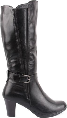 199357385ef La Coquette Γυναικείες Μαύρες Μπότες με τοκά - Glami.gr