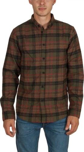 Anerkjendt Konrad πουκάμισο φανέλα καρό λαδί - Glami.gr 6aca6442171