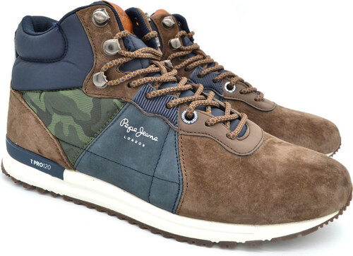 PEPE JEANS PEPE SNEAKER PMS30490 884 TINKER PRO-BOOT ΚΑΦΕ - Glami.gr 8a3d0f4ae29