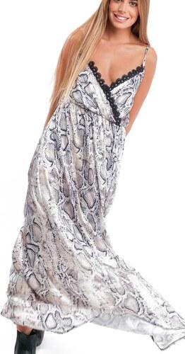 96e49ba6edc1 Luigi Φόρεμα Maxi με Print - Φίδι - 001 - Glami.gr