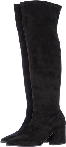 Paola Ferri Γυναικείες Μπότες 4673 Μαύρο ECOsuede - Glami.gr 21cd30cc989