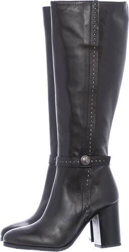 Paola Ferri Γυναικείες Μπότες 4694 Μαύρο Δέρμα - Glami.gr d2c29d83bed