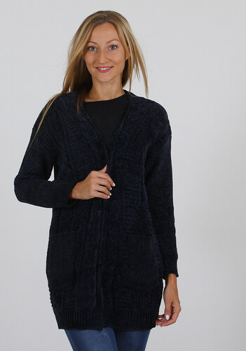 a1656d7f4926 Be-casual Γυναικεία Ζακέτα Way D.Blue One Size - Glami.gr