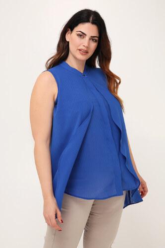 Parabita Αμάνικη πουκαμίσα με διπλό πέτο. - Glami.gr db9733a4612