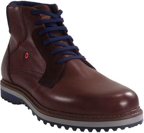 4a9e9bcdcb4 Fratelli Robinson Robinson Ανδρικά Παπούτσια Μποτάκια Αρβυλάκια 1579 Καφέ  Δέρμα 429511