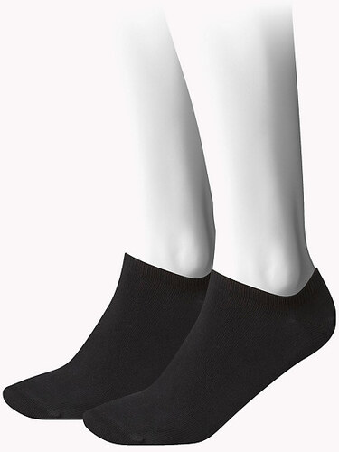 Σετ 2 κάλτσες κοντές Tommy Hilfiger 343024001 - μαύρο Woman - Glami.gr 9a9bb68c41a