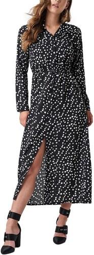Rut and Circle Rut   Circle μακρύ φόρεμα μαύρο με λευκό πουά - Glami.gr 5afe002ade2