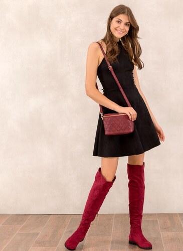 The Fashion Project Suede halter φόρεμα - Μαύρο - 001 - Glami.gr e32ab84dd13