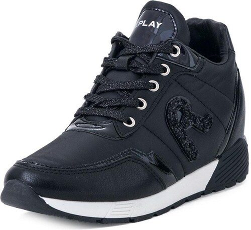 1f87d12d599 Γυναικεία Sneakers Replay (RS940003S ROSE 003 Black) - Glami.gr