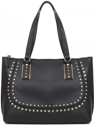 8be49ac8a3 MIGATO Μαύρη τσάντα shopper - Glami.gr