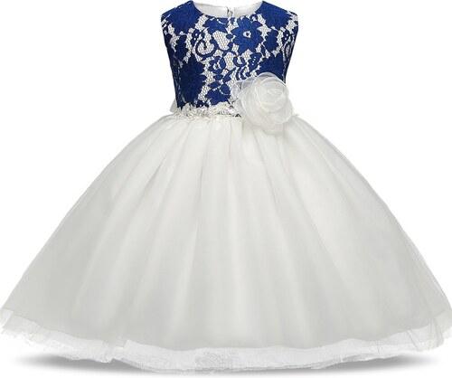 7e23a2b21d5 Meng Baby Παιδικό Φορεματάκι Μπλε - Άσπρο - Glami.gr