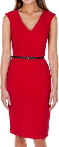 ef9c9891d188 Μίντι Εφαρμοστό Φόρεμα Toi   Moi 50-3574-28 Κόκκινο toimoi 50-3574 ...
