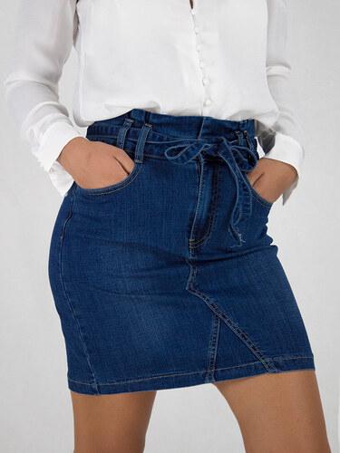 style Jean φούστα paper bag - Glami.gr 80cfb05db58