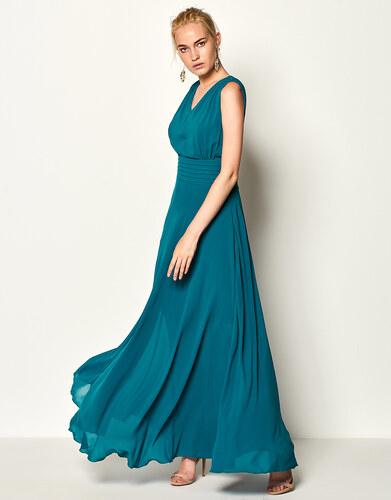 1976589f4c4e Lynne Μακρύ κλος φόρεμα με πιέτες - Glami.gr