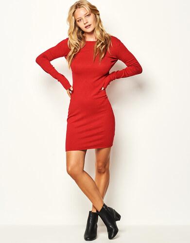 Lynne Πλεκτό φόρεμα με ανοιχτή πλάτη - Glami.gr f3f1148fc53
