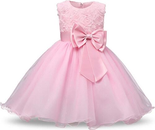 3542b8f463b Παιδικό Φορεματάκι Ροζ - Meng Baby - Glami.gr