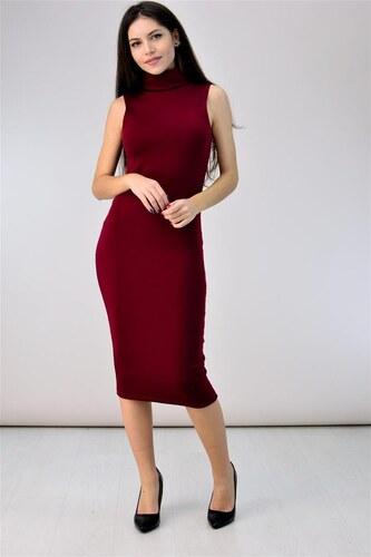 d76f567bff18 First Woman Midi φόρεμα με ζιβάγκο - Glami.gr