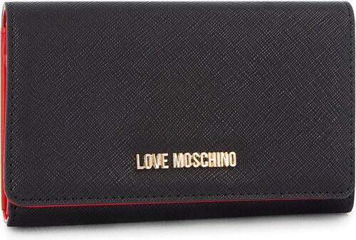 de303cffbb Μεγάλο Γυναικείο Πορτοφόλι LOVE MOSCHINO - JC5553PP06LQ0000 Nero ...