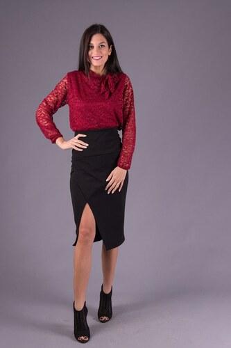 endio Μαύρη πένσιλ ψηλόμεση φούστα - Glami.gr 3e3b1c83daa