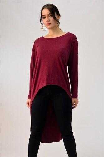 718410f6abe6 First Woman Μακρυμάνικη μπλούζα ασύμμετρη - Glami.gr