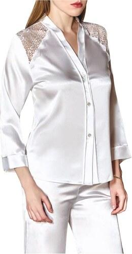 FMS Γυναικεία Νυφική Πυτζάμα 450 Λευκό - Glami.gr e796b6b8f95