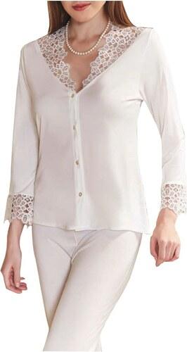FMS Γυναικεία Νυφική Πυτζάμα 559 Λευκό - Glami.gr da109ed1581